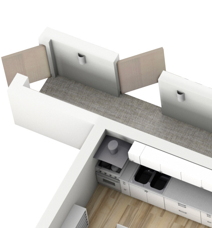走廊 & 楼梯平台