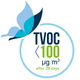 TVOC after 28 days < 100 μg/m3
